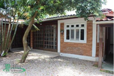 Casa Com 2 Dormitórios Para Alugar, 65 M² Por R$ 1.800/mês - Campeche - Florianópolis/sc - Ca1323