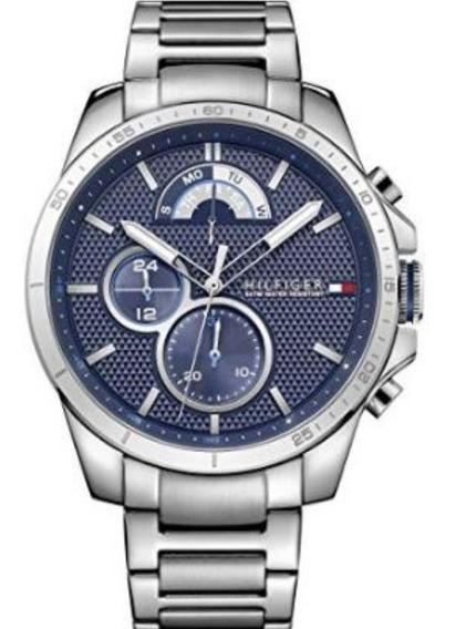 Relógios Masculinos Tommy Hilfiger Pulseira De Aço Decker