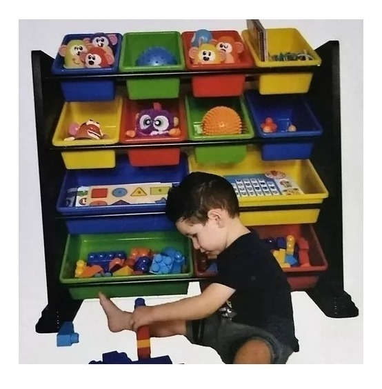 Organizador Juguetero Infantil Recipientes Niños Juguetes