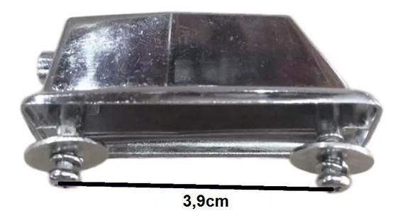 Canoa Quadrada Média P/ Bumbo Surdo Tom De Bateria Kit Com 5