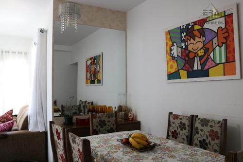 Apartamento Com 2 Dormitórios À Venda, 66 M² Por R$ 300.000,00 - Jardim Rincão - Arujá/sp - Ap0292