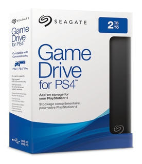 Seagate Disco Externo 2tb (2000gb) Ps4 Usb 3.0 Game Drive