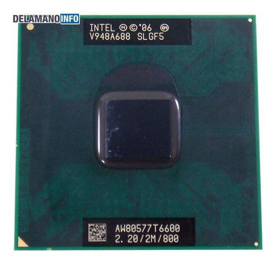 Processador Intel Core 2 Duo T6600 Slgf5 2.20ghz