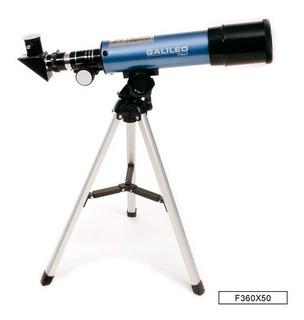 Telescopio Con Trípode F360 X 50 Galileo