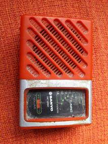 Rádio Antigo Portátil Sanyo Rp 1280 Leia Descrição