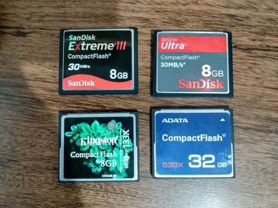 Cartão De Memoria Compact Flash Cf