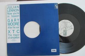 Julian Lennon/gary Moore/xtc, Disco Mix 1989(leia Descrição)