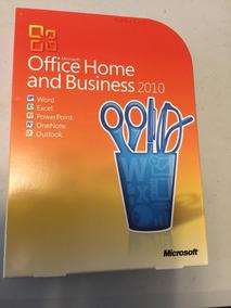 Office Home And Business 2010 Fpp Box Lacrado Com Mídia.