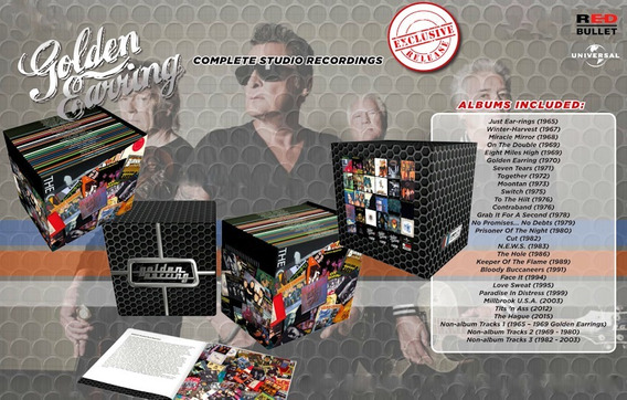Golden Earring - The Complete Studio Box - Lacrado/s Juros