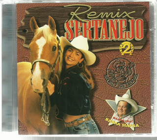 Cd Remix Sertanejo 1997 Vol. 2 Barra Mansa
