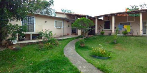 Chácara Com 3 Dormitórios À Venda, 1250 M² Por R$ 430.000,00 - Jardim Salete - Araçoiaba Da Serra/sp - Ch0205