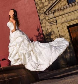 Hermoso Vestido De Novia, Talla 38 A 42