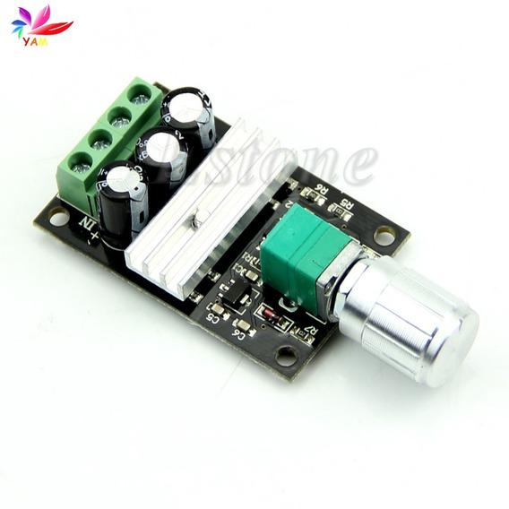 Controlador De Velocidade Motor Dc 6v 12v 24v 28v On Off
