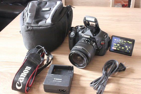 Canon T3i Lente 18-55mm E Bolsa.