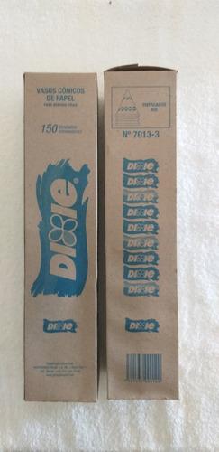 Vasos Cónicos Dixie De Papel.paquete De 150 Unidades
