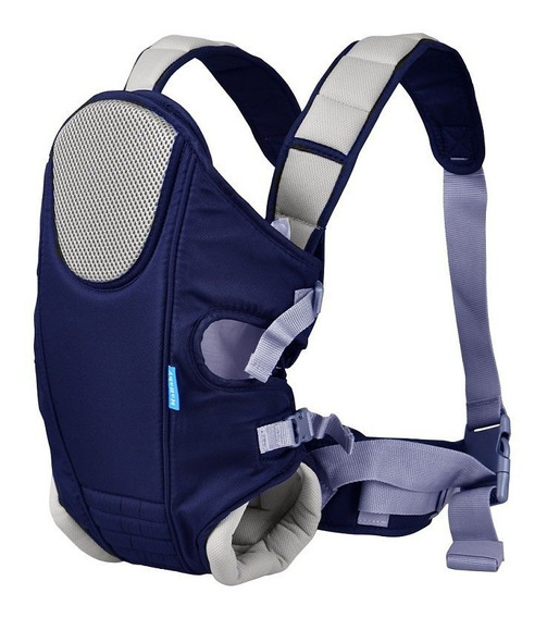 Canguru ``sling`` P Bebê Unissex Azul Marinho Menino Menina