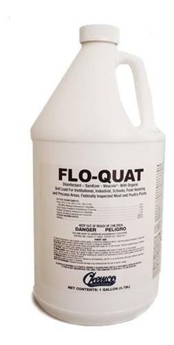Imagen 1 de 3 de Desinfectante Flo Quat (sales Cuaternarias De Amonio)