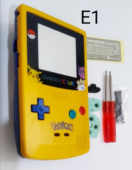 Carcaça Game Boy Color Pokemon Ou Que Brilha No Escuro