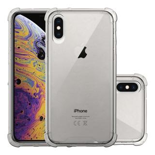 Funda iPhone Prectector Case Bumper Uso Rudo Transparente