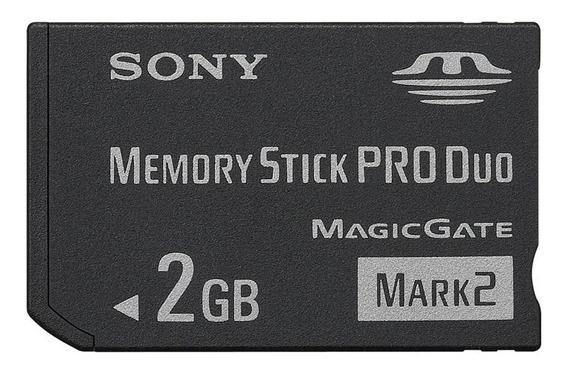 Cartão De Memoria Produo Para Camera 2 Gb Sony