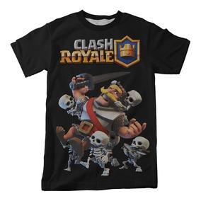 Camiseta Clash Royale Exército De Esqueletos