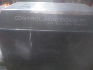Control Gamer Analógico Para Pc