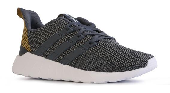 Zapatillas adidas Questar Flow Hombre Running Gris