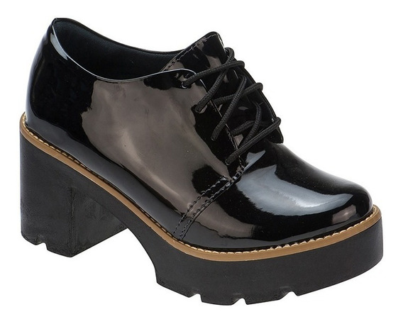 Sapato Feminino Tratorado Oxford | S01.oxf