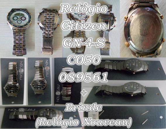 Venda - Relógio - Citizen - Gn-4-s - 089561 + Brinde