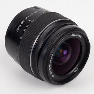 Lente Sony 18-55mm Montura A Y Regalo Cámara Sony A230