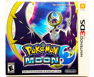 Pokemon Moon + 800 Pokemon + Objetos - Nintendo 2ds & 3ds