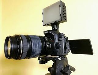Cámara Canon Eos 60d + Equipamiento De Producción !!