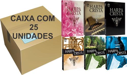 Harpa Cristã Popular Média Caixa Com 25 Unidades Cpad