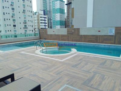 Apartamento Alto Padrão Totalmente Mobiliado E Equipado - Localização Privilegiada Em Balneário. - 676