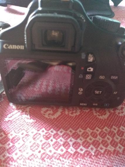 Câmara Fotográfica Semiprofissional Cannon Rebel T3
