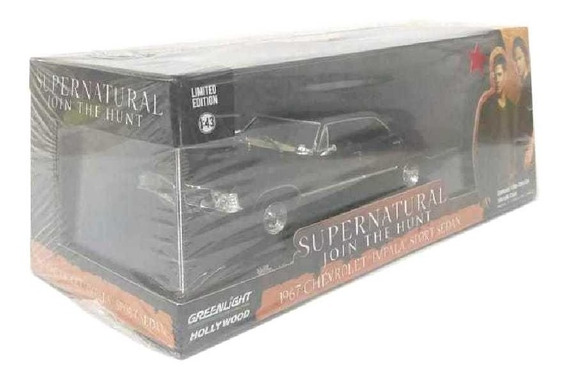 Greenlight Supernatural 1967 Chevrolet Impala Sports 1/43 4p