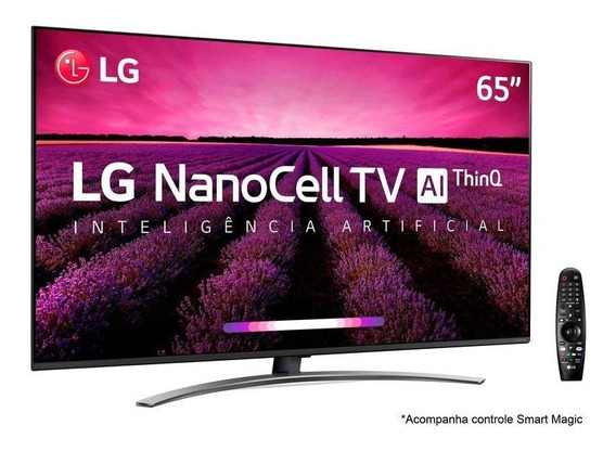 Smart Tv Ultra Hd 4k Led 65 LG Nanocell 4 Hdmi 3 Usb Wi-fi
