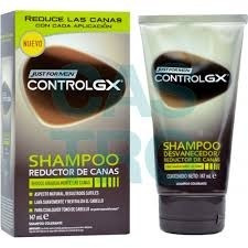 3pz Shampoo Just For Men Control Gx Canas Rejuvenec Original