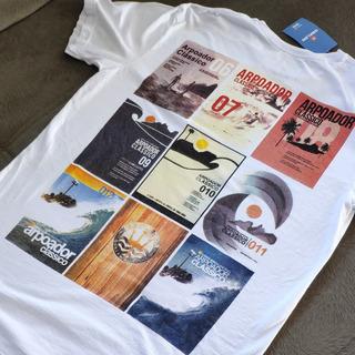 Camiseta Osklen Tamanho M Arpoador Rio De Janeiro Surf