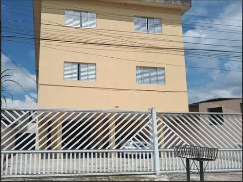 Imagem 1 de 8 de Apartamento No Bairro Samaritá/sv, Com Dois Dormitórios. - Nff53