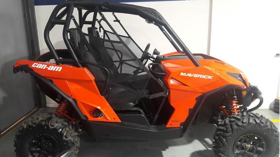 Utv Can Am Maverick 1000 R 101hp 3800km Rojo