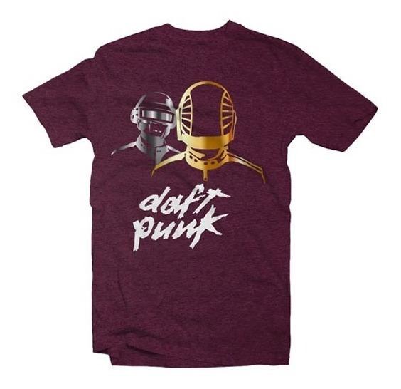 Playeras Daft Punk - 15 Modelos Disponibles