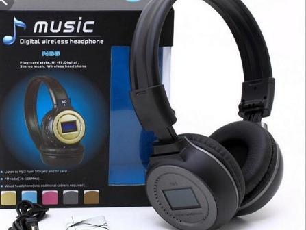 Audifonos Inalambricos Bluetooth Mp3 Musica