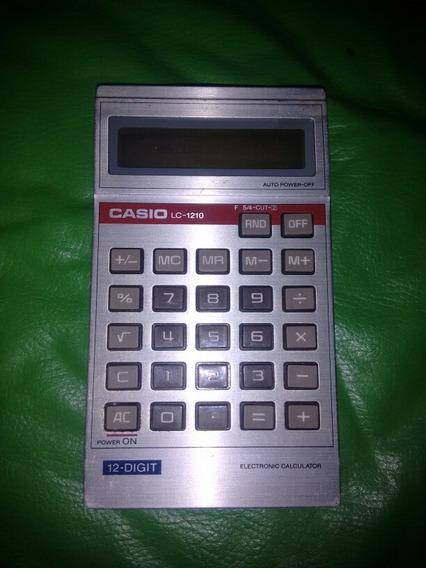 P/ Reparo/peças - Calcudora Casio Lc-1210 - Nao Funciona