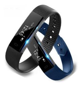 Smartwatch Relógio Id115 Fitness Bluetooth À Prova D