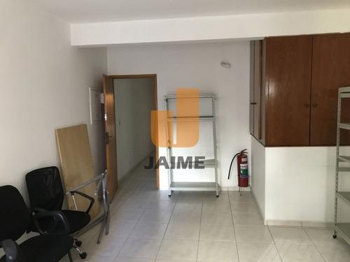 Casa Comercial Para Locação No Bairro Santa Cecília Em São Paulo - Cod: Ja15493 - Ja15493