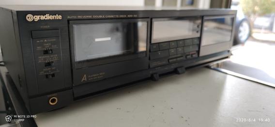 Auto Reverse Double Cassete Deck Modelo Add 3.0 - Gradiente