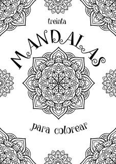 Libro 30 Mandalas Para Colorear+24 Lápices De Color Filgo