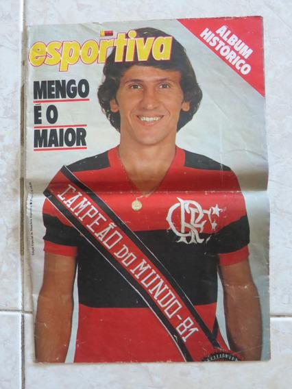 Manchete Esportiva Flamengo Campeão Do Mundo 1981 Poster
