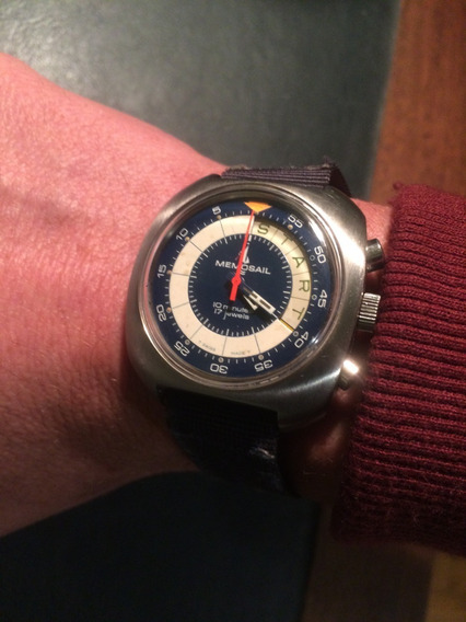 Relógio Memosail Regatta Olympic Yachtsmans Cronógrafo